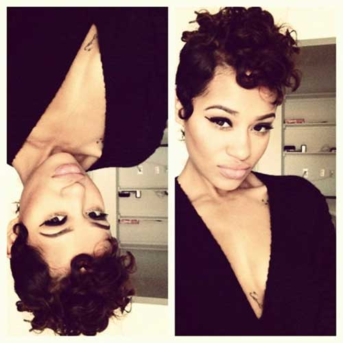 Short Haircuts for Curly Hair-18