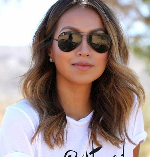 Hairstyles for Medium Short Hair-8