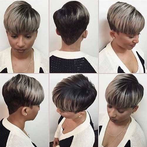Cute Short Hairstyles for Black Women-13