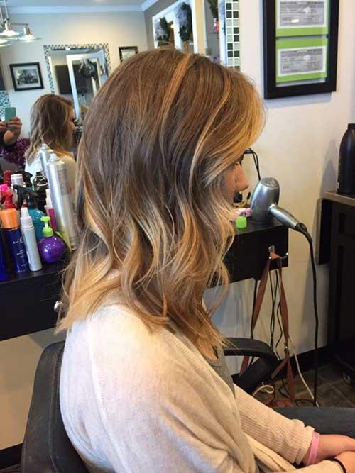 Hairstyles for Medium Short Hair-13