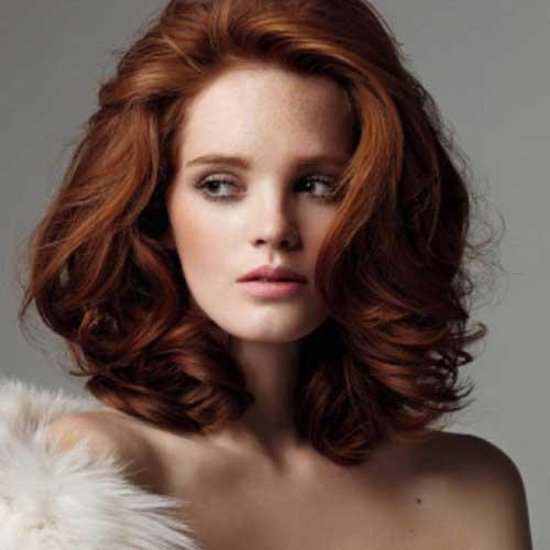 Hairstyles for Medium Short Hair-15