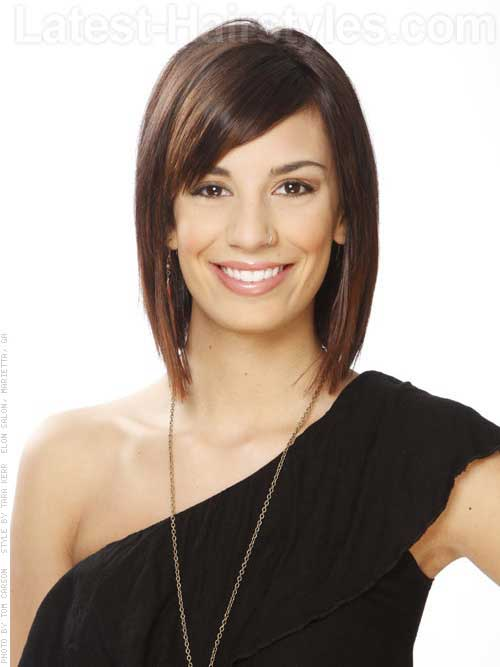 Short Haircuts for Thin Straight Hair-6