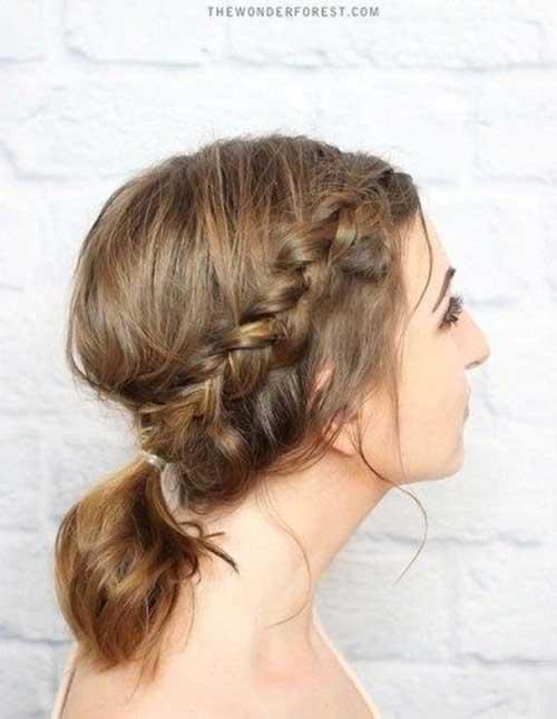 Hairstyles for Medium Short Hair-7