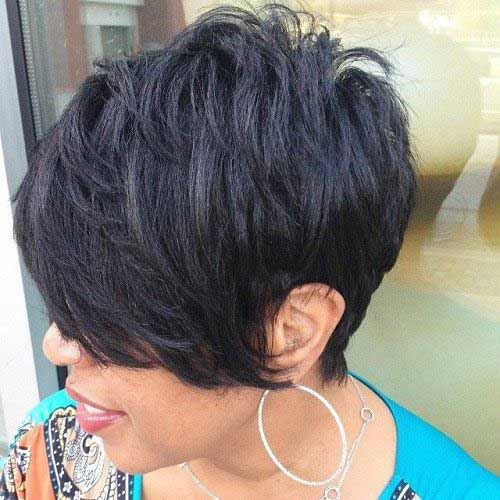 Cute Short Hairstyles for Black Women-8