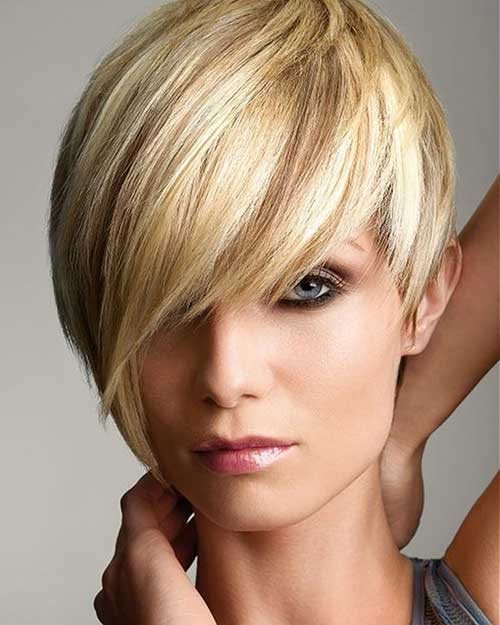 Short Haircuts for Thin Straight Hair-8