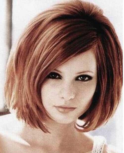 Hairstyles for Medium Short Hair-9
