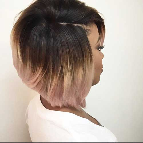 Black Women Ombre Hairstyles Bob