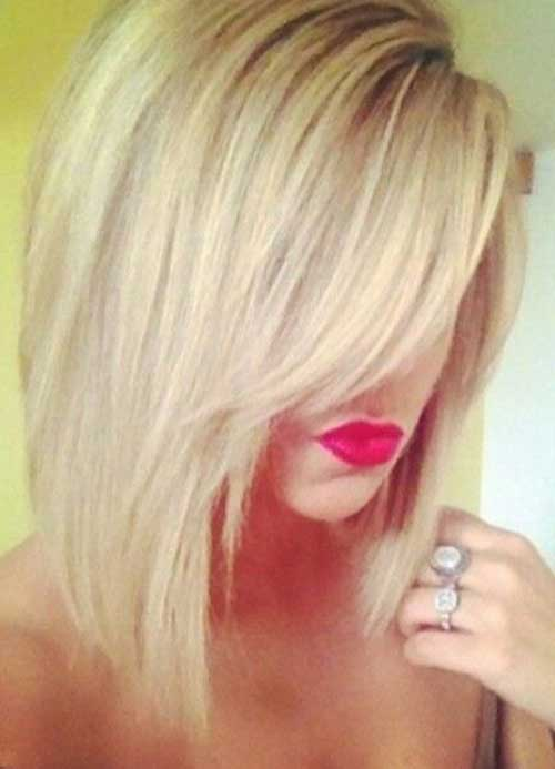 Blonde Long Bob Haircuts
