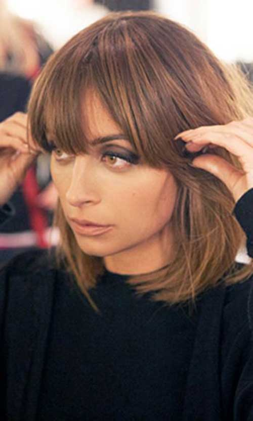 Brown Bob Nice Short Hairstyles