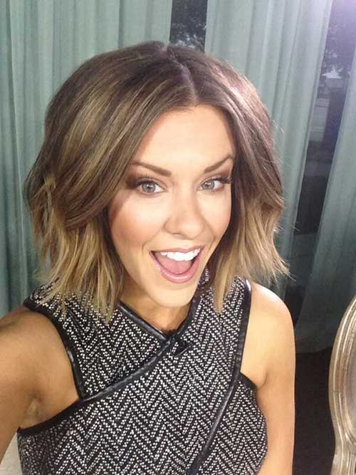 Brown Bob Short Hairstyles