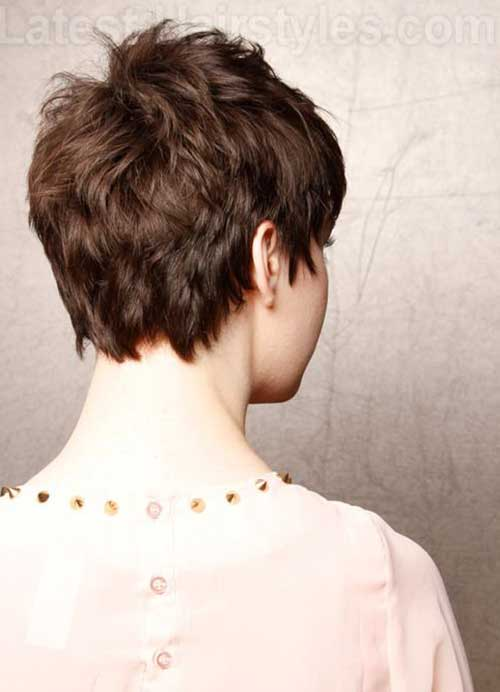 back view of pixie haircuts coupe 224 l arri 232 re de lutin coupes pixie and coiffures 2879