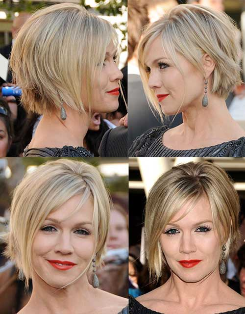 Classy Layered Hairstyles for Short Hair Ideas