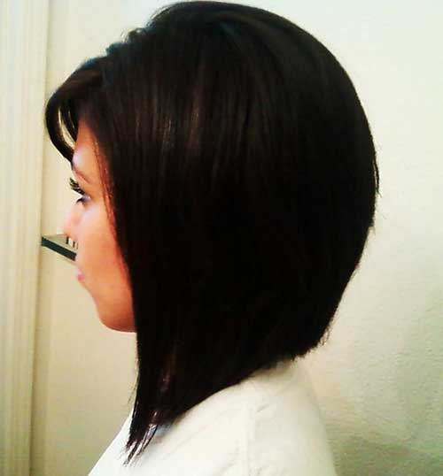 Cute Long Inverted Bob Styles