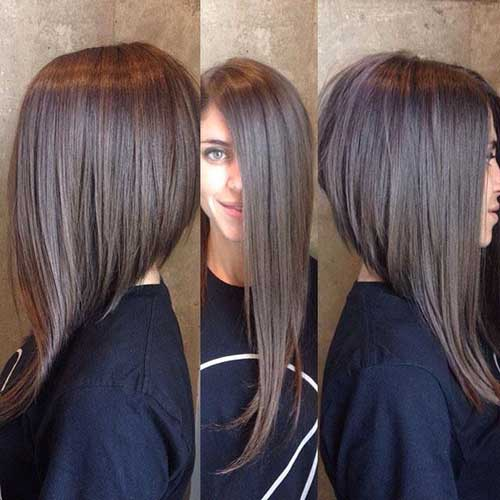 Different Long Inverted Bob Hairstyles