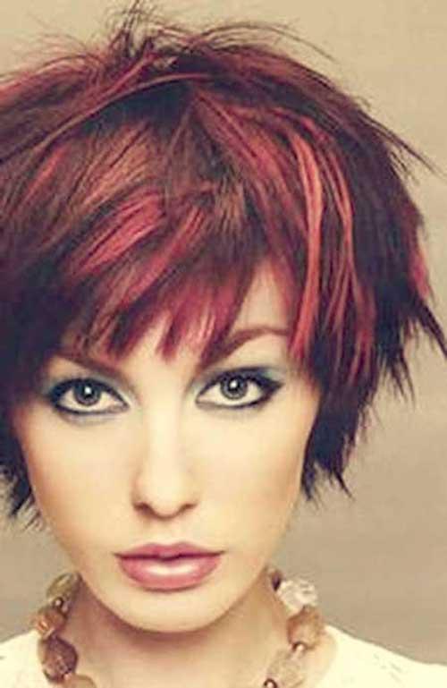 Funky Short Hair Styles Idea