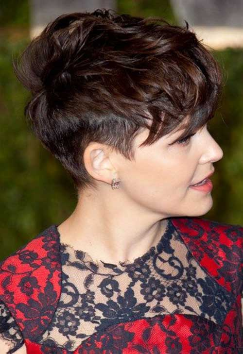 Ginnifer Goodwin Messy Pixie Cuts Ideas