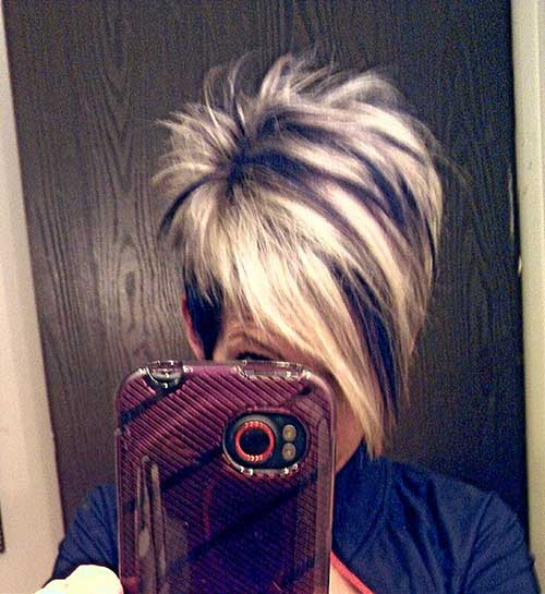 Hair Cuts for Short Highlighted Hair