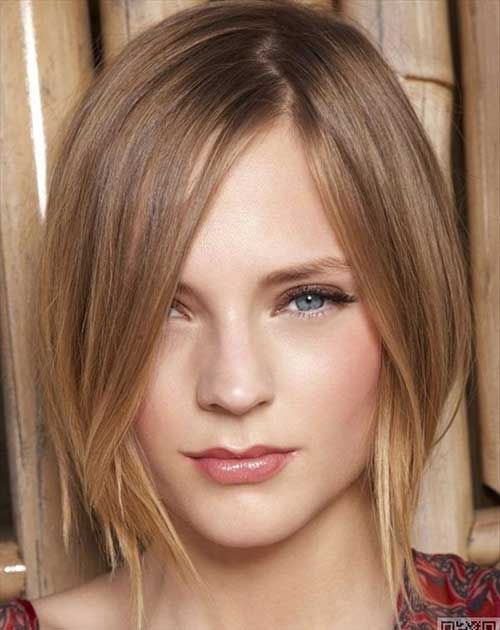 Hairstyles for Thin Short Straight Hair