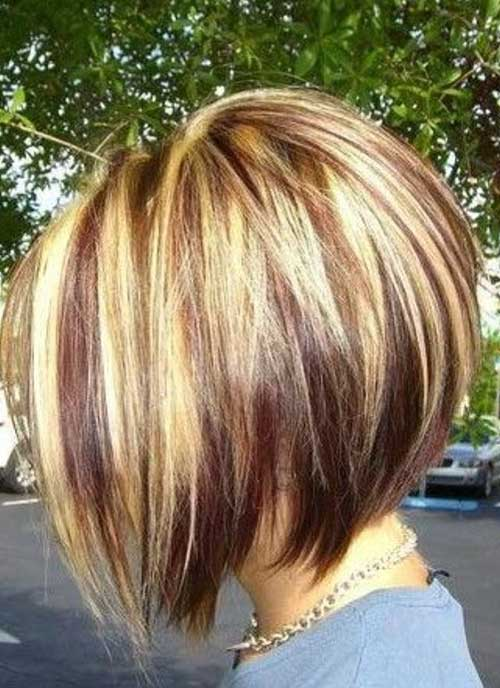 Short Inverted Bob Haircuts