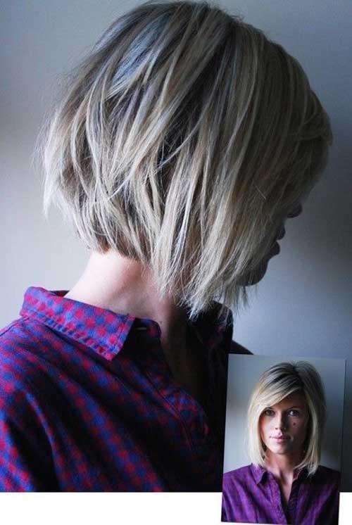 Layered Short Bob Haircuts