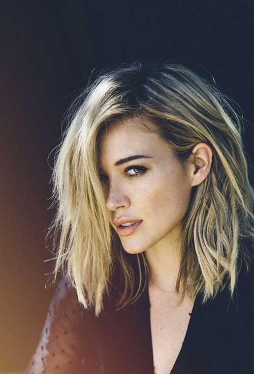 Long Blonde Bob Hairstyles