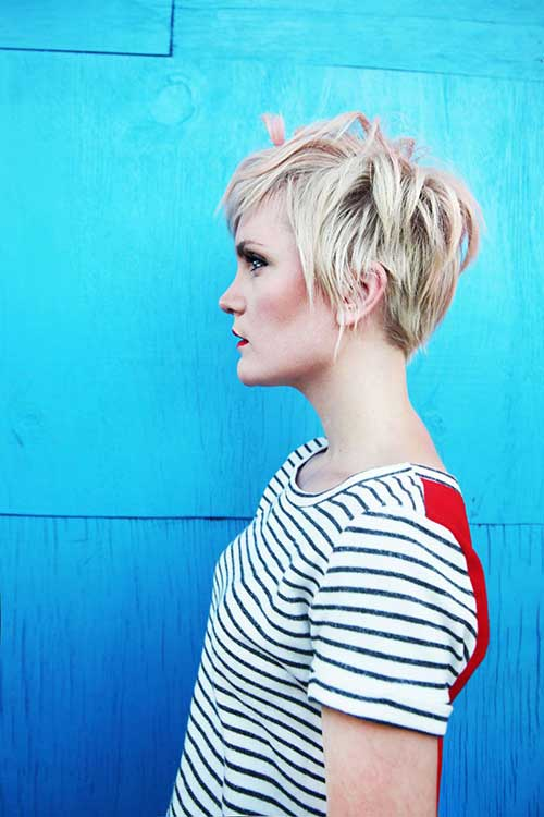 Messy Pixie Cut Blonde Hair Ideas