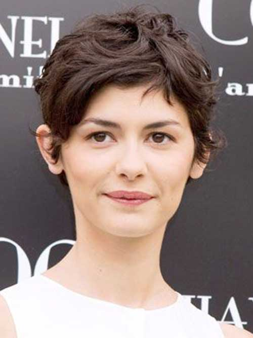 Messy Pixie Cuts Wavy Hairstyles Women