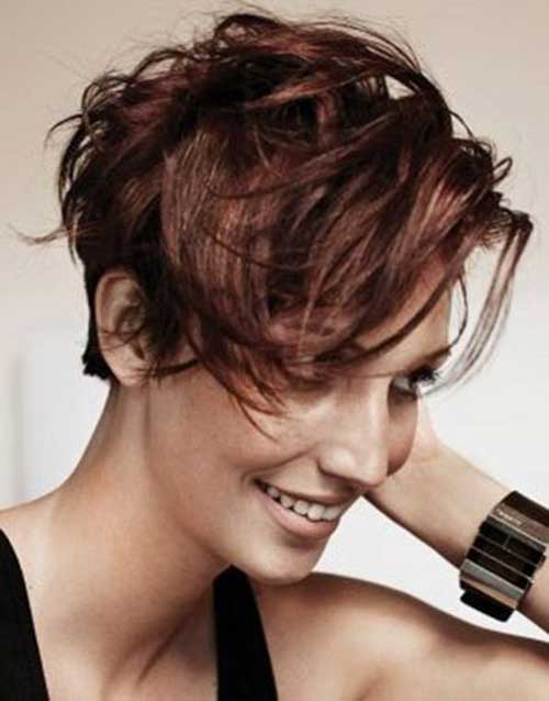 Messy Pixie Cut Wavy Hair Ideas