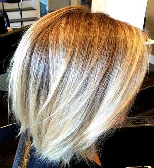 Nice Short Blonde Bob Haircuts