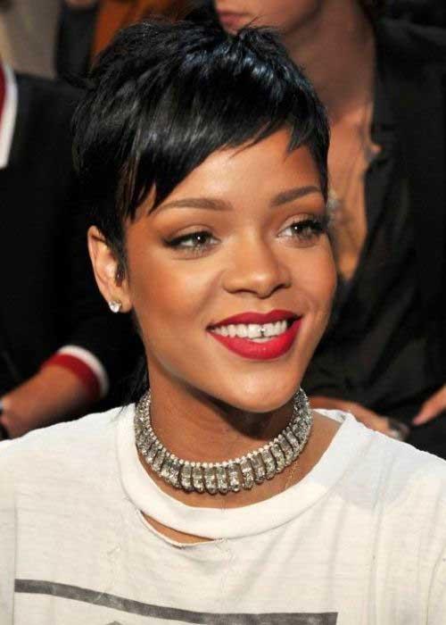 Rihanna Short Pixie