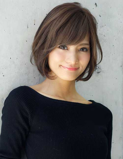 Short Asian Bob Haircuts