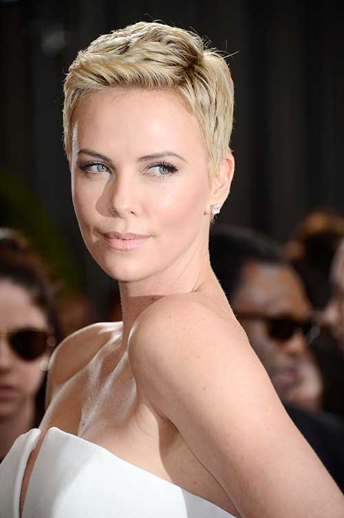 Short Blonde Pixie Haircuts