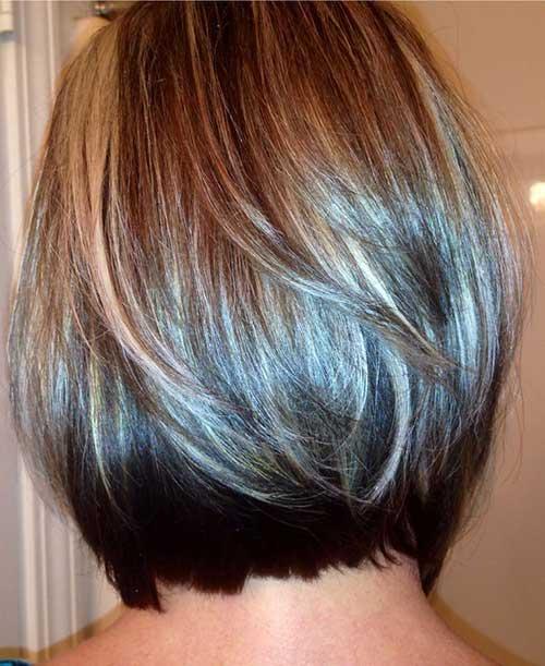 Short Bob Haircuts Back View for Women