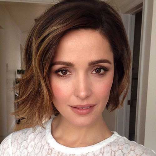 Short Brown Bob Hair Ideas