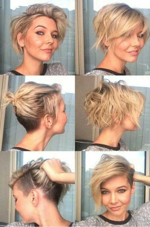 Nice Short Hair Cut Styles