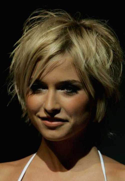 Short Layered Pixie Hair Cut