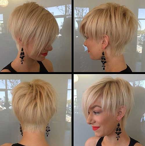 Straight Funky Short Hair Styles