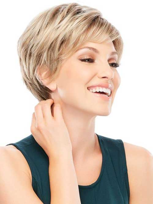 Style for Short Blonde Hair Cut