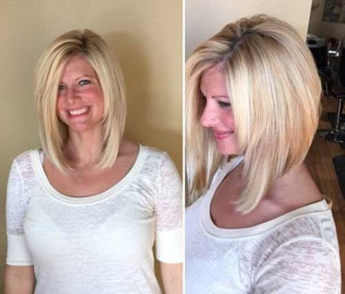 Stylish Long Inverted Bob Hairstyles