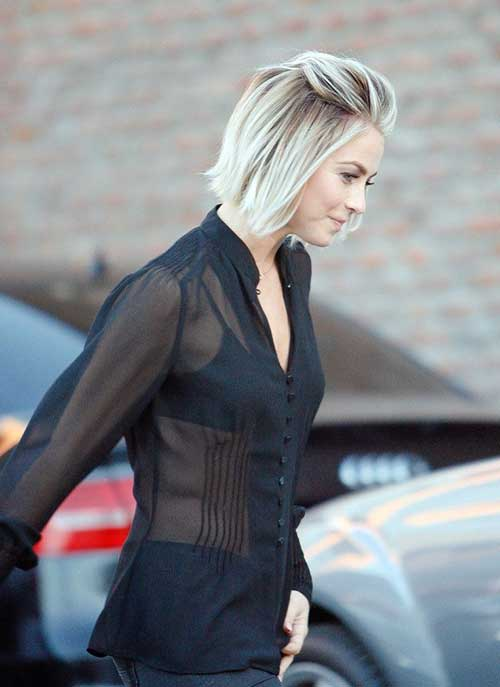 Trendy Short Blonde Bob Hair