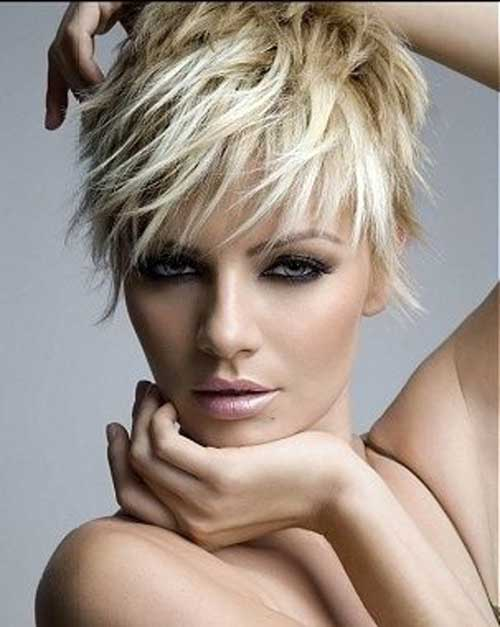 Women's Messy Pixie Cuts Hair