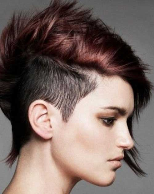 Shaved Pixie Cut-12