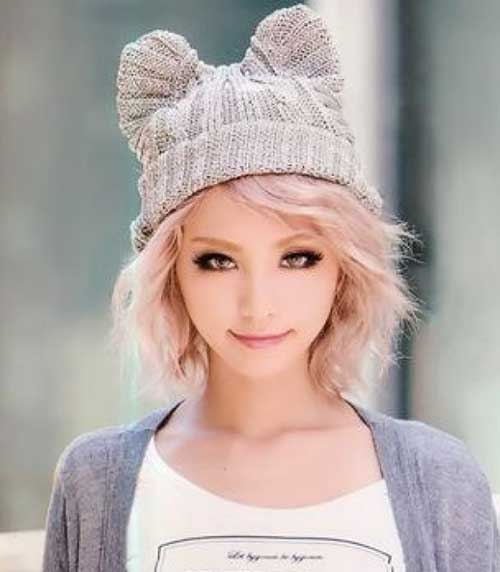 Cute Girls with Short Hair-14