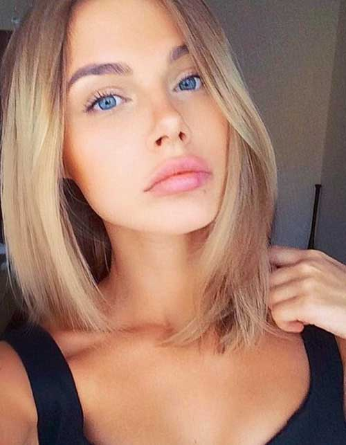 Short Straight Hairstyle-15