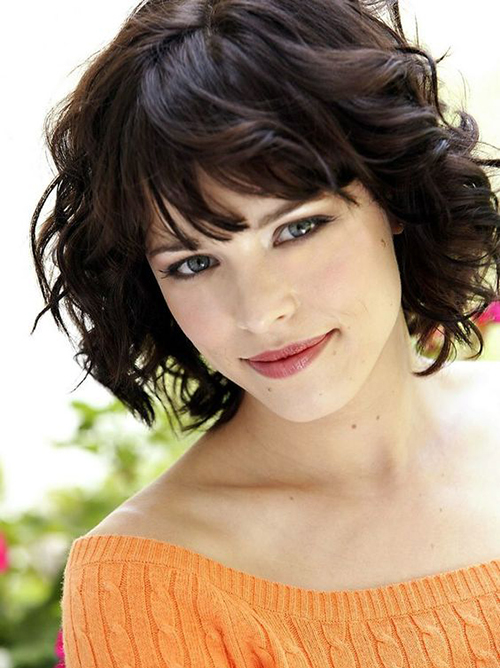 Short Haircuts for Thick Wavy Hair-19