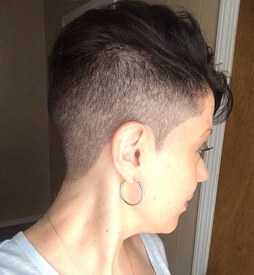 Shaved Pixie Cut-6