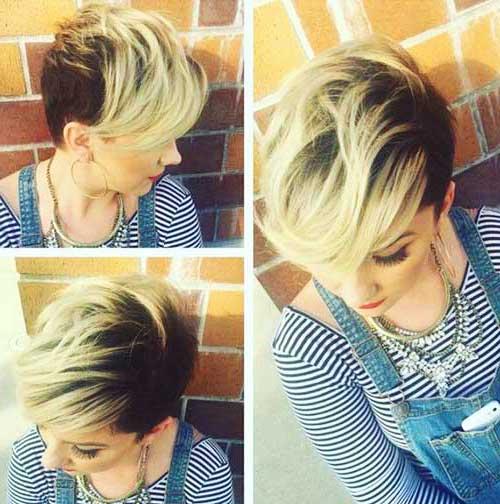 Cute Hair Styles for Short Hair-6