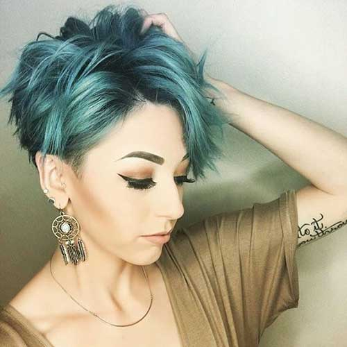 Short Colored Hair-7