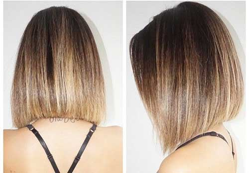 Short Straight Hairstyle-7