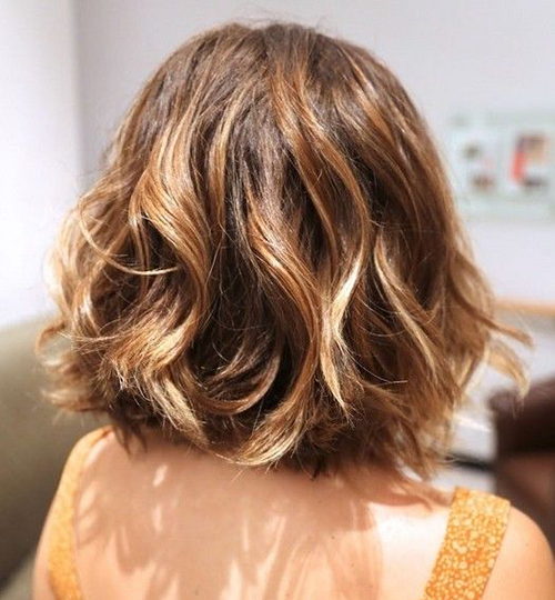 Short Haircuts for Thick Wavy Hair-8
